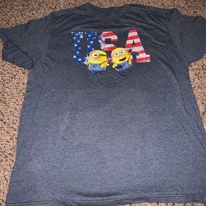 Men's minions shirt